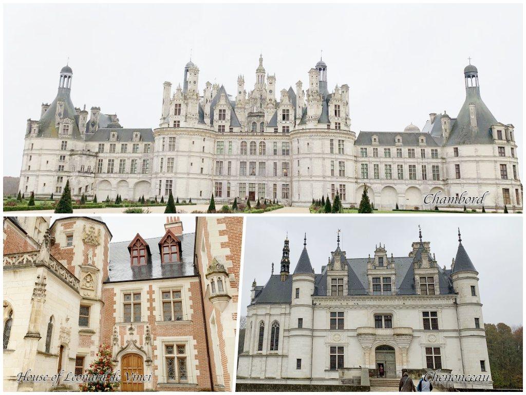 羅亞爾河的三個城堡