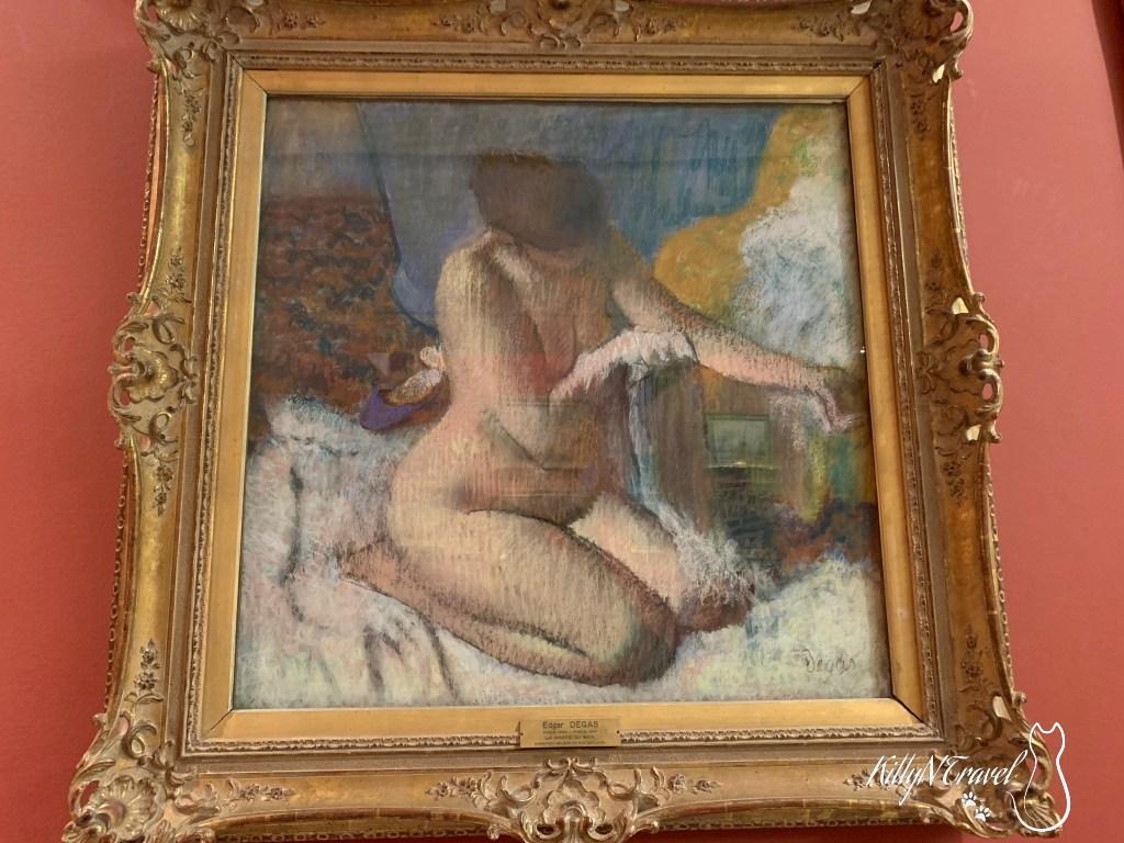 Nude Woman After Bath/Edgar Degas