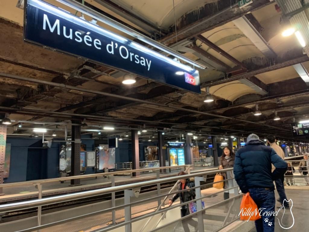 Metro @Musée d'Orsay